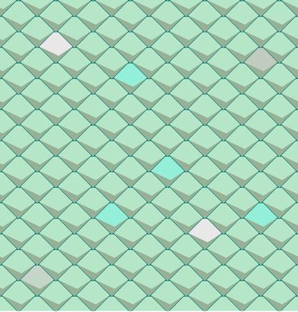 vector seamless texture of snake skin Illustration