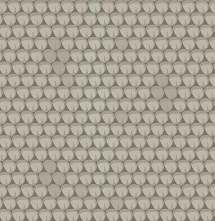 vector seamless texture of snake skin Ilustrace