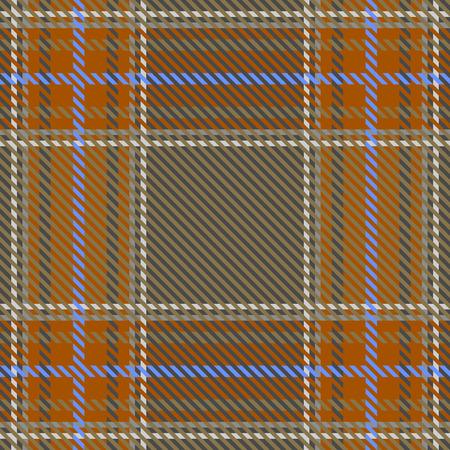 seamless vector texture of tartan fabric Stock Illustratie