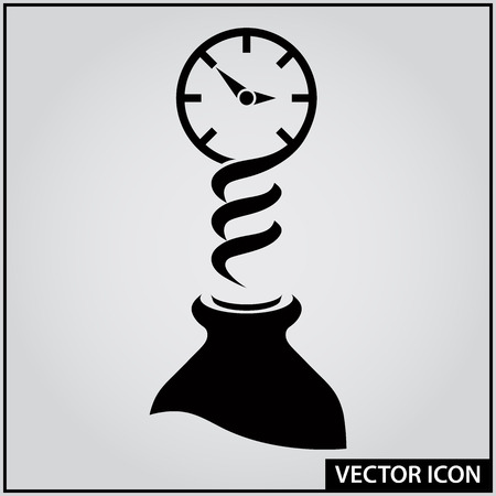 vector icon time to start a party Ilustração