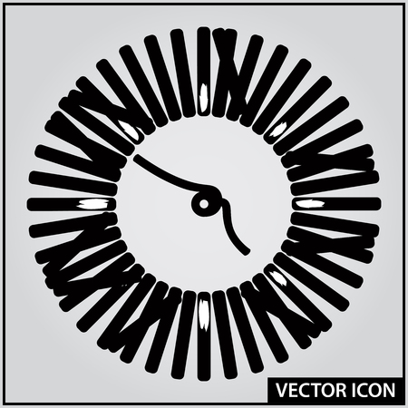 vector graphic icon of woven ropes