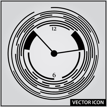 vector graphic icon time movement speed