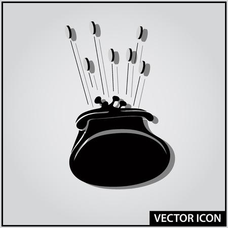 vector financial savings money concept icon