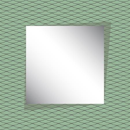 snake skin pattern vector seamless card