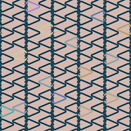 seamless abstract texture lattice of industrial elements