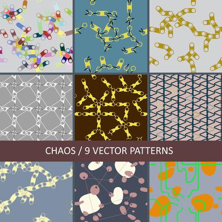 colored paper seamless abstract textures Ilustração