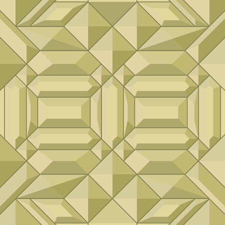 golden mosaic seamless vector texture