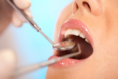 at came: girl came for a visit to the dentist