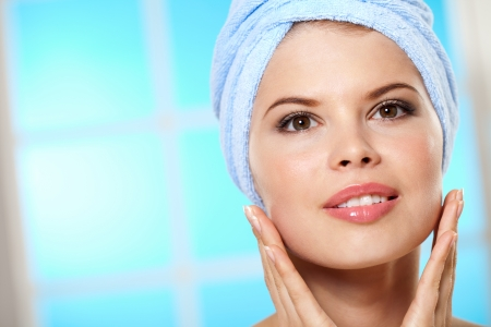 Beautiful girl loves to take care of yourself Stock Photo - 14290803