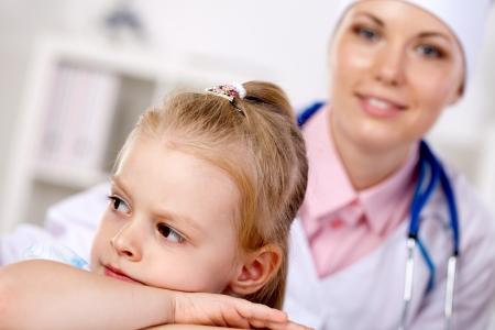 belonging to the caucasoid race: reception of children in pediatric