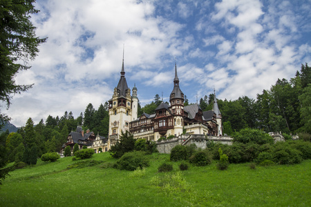 Peles Castle in Transylvania Romania Eastern Europe