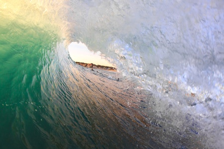 A view from inside the wave photo