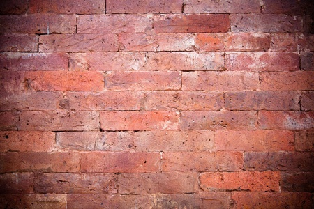 A part of a red brickwall Stock Photo