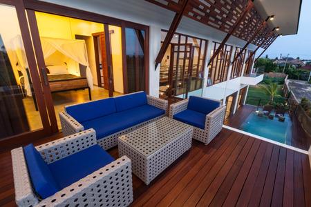 Tropical loft villa