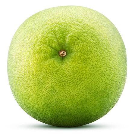 Sweetie citrus fruit isolated on white background. Stock Photo