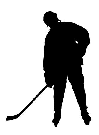 check out: Hockey Player Silhouette. Please, check out my portfolio for other silhouettes.