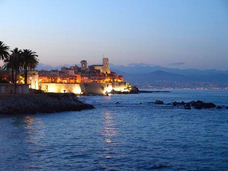 Antibes, French Riviera Standard-Bild