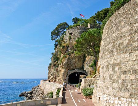 Tunnel to Monaco, Monte-Carlo. photo