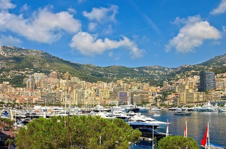 View of Monaco harbour, Monte Carlo Stock Photo - 6288067