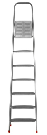 Step-ladder with seven steps