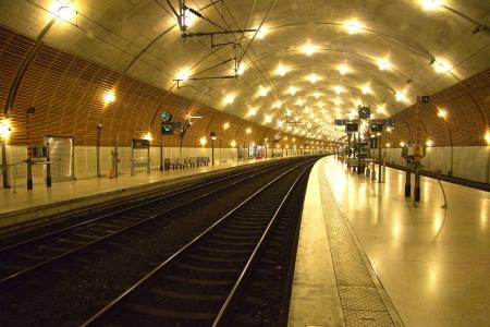 journeying: The train station Monaco-Ville of Monaco