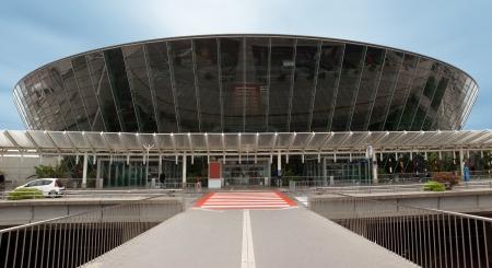 Terminal building at Nice Cote d Azur Airport