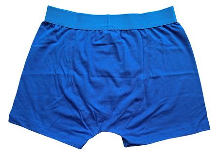 ropa interior: Ropa interior masculina aislada en el fondo blanco. Trazado de recorte incluido.
