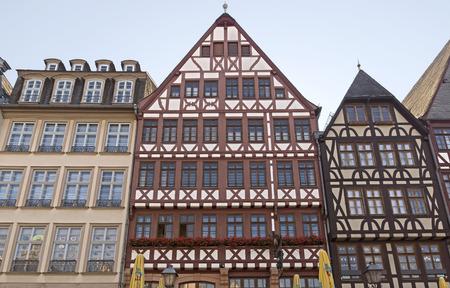 roemer: Frankfurt am main historic roemer place. Germany.