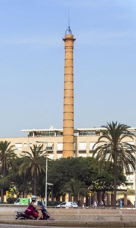 barsa: BARCELONA, SPAIN - JULY 4, 2015: Architecture of port Vell in Barcelona, Spain. Editorial