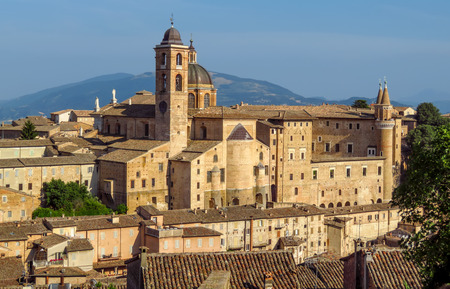 Palazzo Ducale in Urbino and surroundings, Marche, Italy