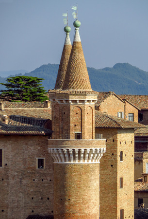 Ducale Palace in Urbino city, Marche, Italy