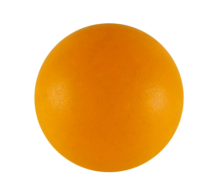Ping pong ball isolated on white background with Clipping Path Banco de Imagens