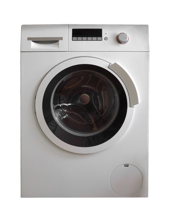Washing Machine isolated on white.