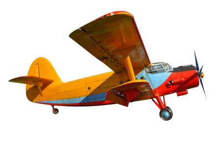 Scale model of old soviet aircraft. with .