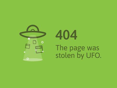 Error 404, web page not found.