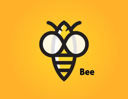 Stylized honeybee icon