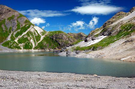 Lac du Vieux Emosson - Swiss Alps Europe  Stock Photo - 6523440