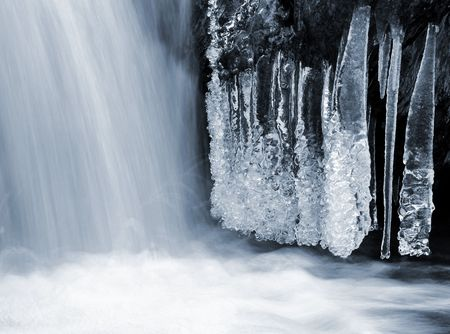 winter creek in the national park Sumava - Czech Republic  Stock Photo - 6523435