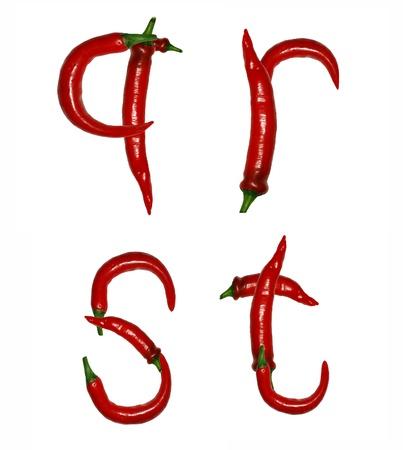 capsaicin: alphabet of peppers