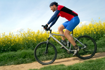 rapidity: mountain biker