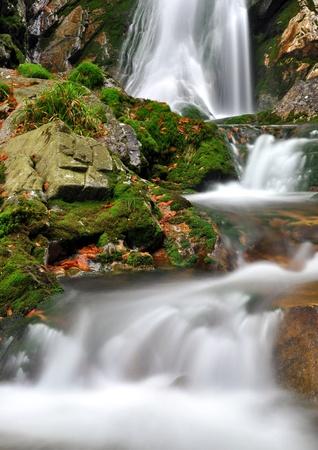 colorific: autumn creek in Czech republic Stock Photo