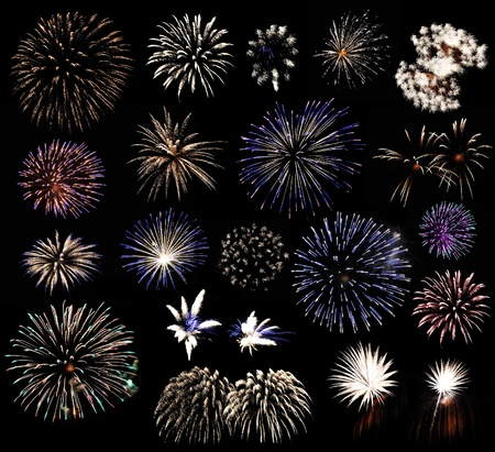 Fireworks collection  photo