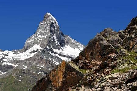 views of the Matterhorn - Swiss Alps photo