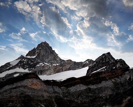 zermatt: Beautiful mountain Zinalrothorn - Swiss alps