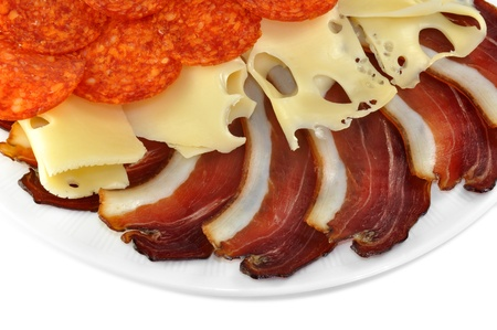 jamones: Jamón con queso