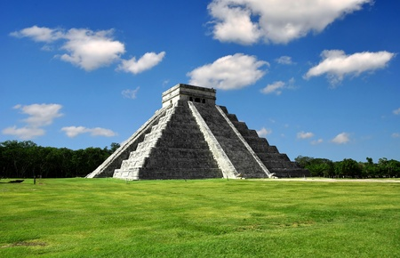cancun: Chichen Itza in Mexico