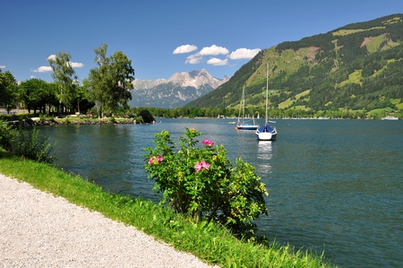 zell am see: Zell am see in Austria Editorial