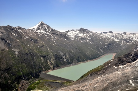 Dam Mattmark-Swiss Alps  photo