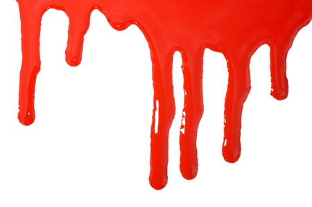 Dripping blood Stock Photo - 12904445