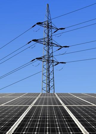 Solar energy panels  photo